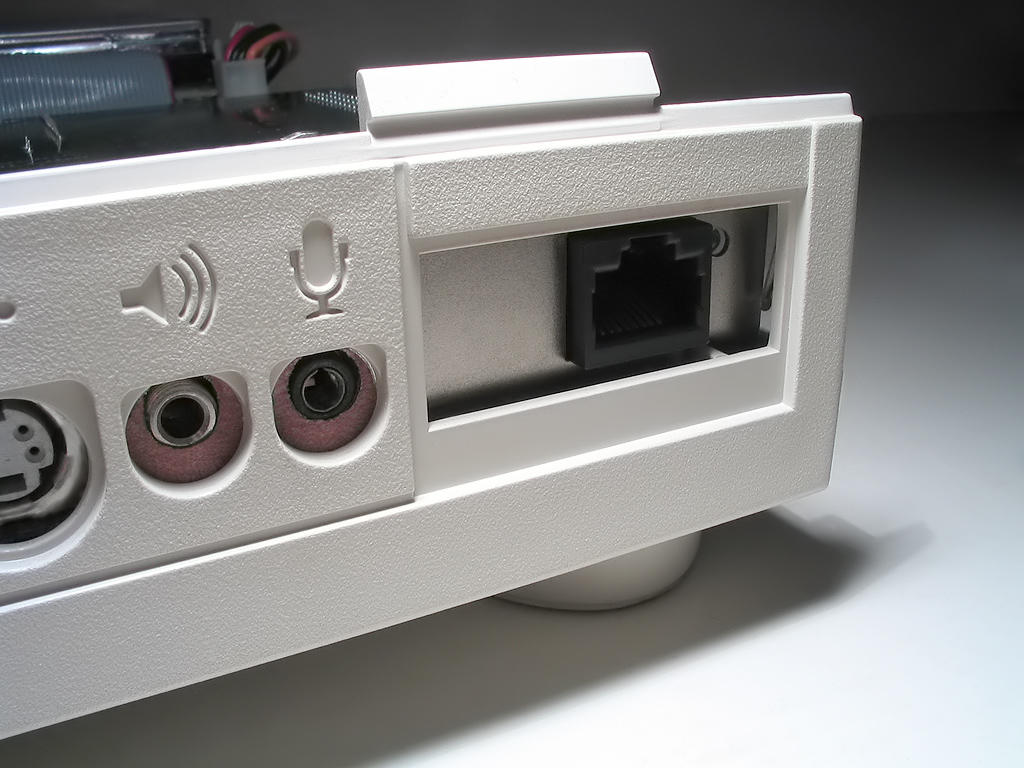 Macintosh Quadra 605 ethernet port