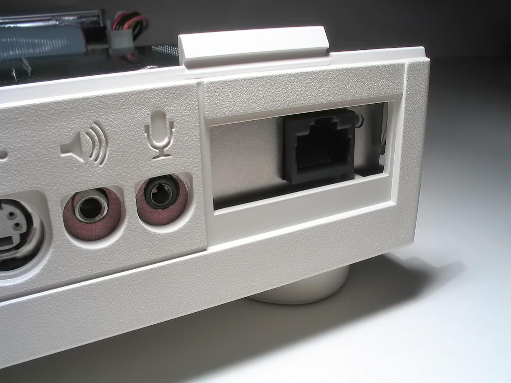 Macintosh Quadra 605 ethernet port