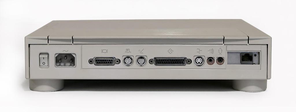 Macintosh Quadra 605 rear ports
